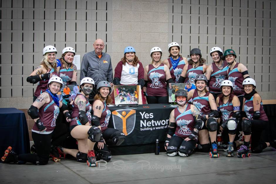 SCAR Dolls hosts Yes Network as Charity of the Game