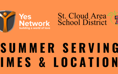 Yes Network & St. Cloud School District Summer Meal Times and Locations